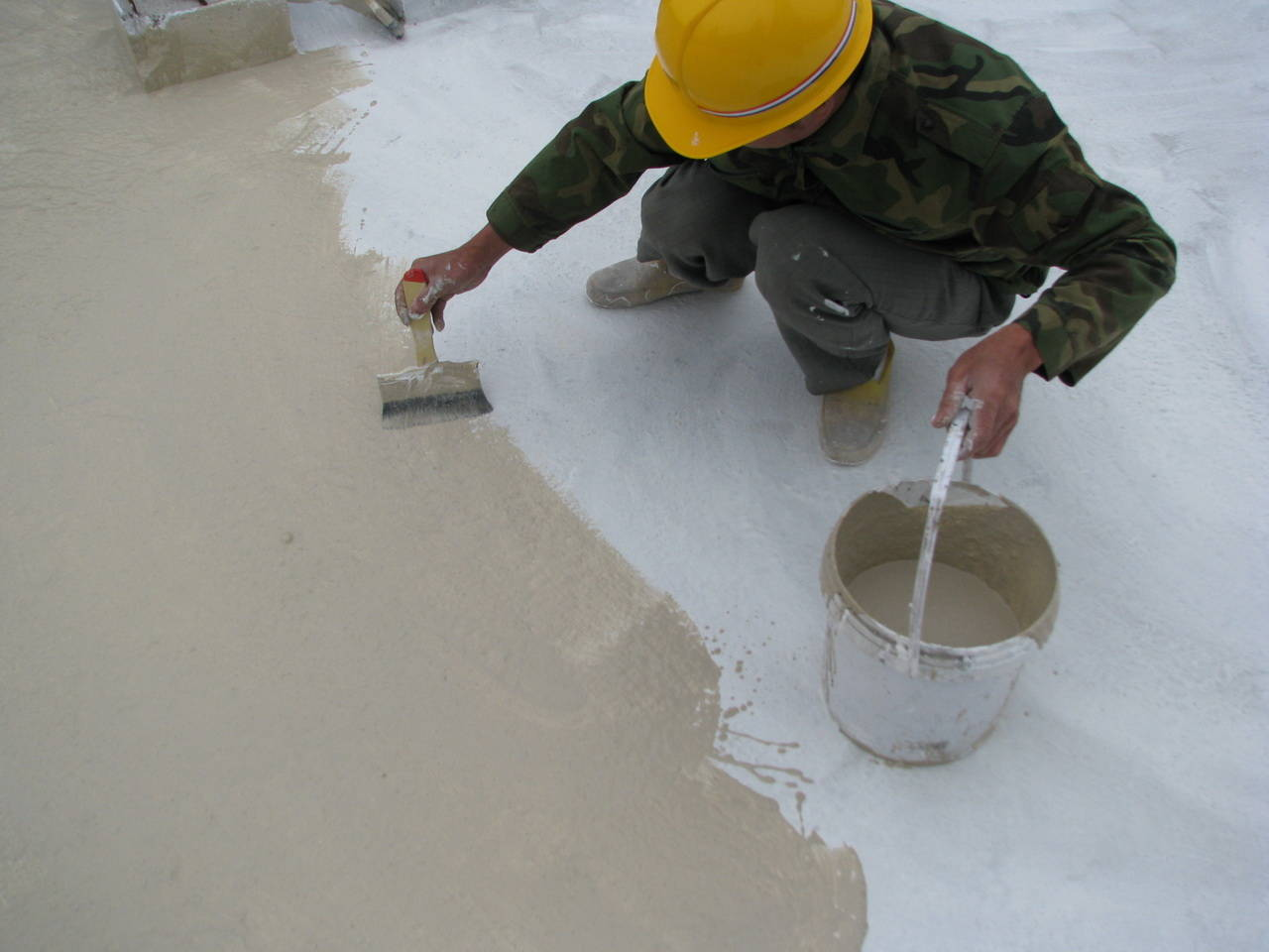 防水涂料的应用
